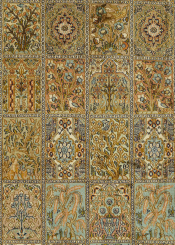 Arabesque Shalimar-Hamadan | Carpets of Kashmir