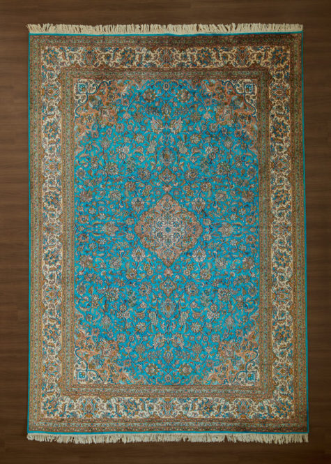 Blue Jay Sarouk | Carpets of Kashmir