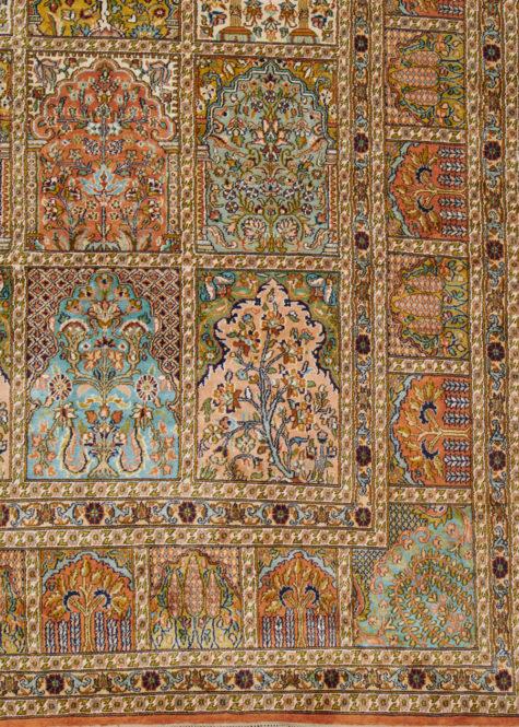 Caramel Shalimar-Hamadan | Carpets of Kashmir
