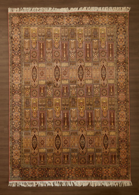Cedar Wood Bakhtiari | Carpets of Kashmir