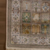 6 by 4 coffee table pure silk oriental rug