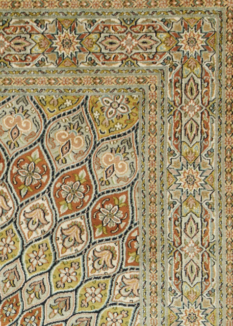 Duke Blue Shahzaneen | Carpets of Kashmir