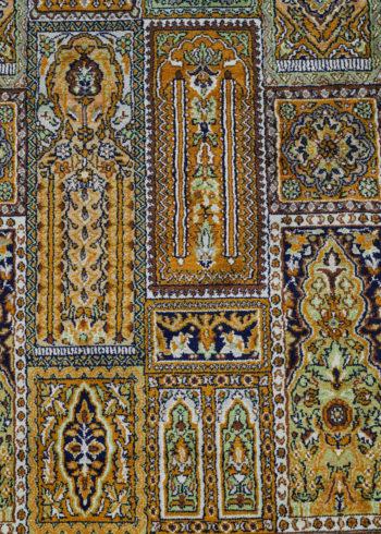 Medieval Blue Bakhtiari | Carpets of Kashmir