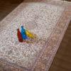 Living Room Pure Silk Carpet