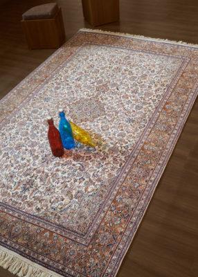 Pure Silk Carpet for Living Room