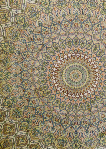 Papyrus White Nain | Carpets of Kashmir