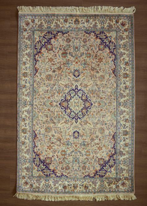 Peach Sarouk | Carpets of Kashmir