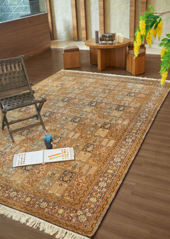 10 by 7 silk carpet for living room