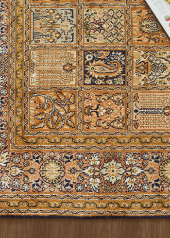 Royal Blue Qum | Carpets of Kashmir