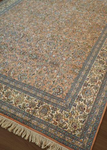 Warm Apricot Heriz | Carpets of Kashmir