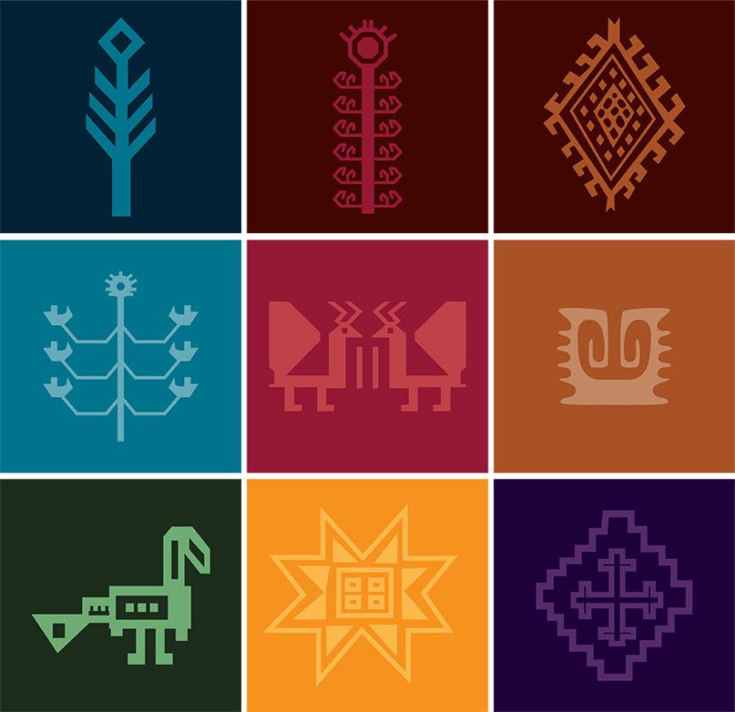 Symbols Colors   Carpets of Kashmir