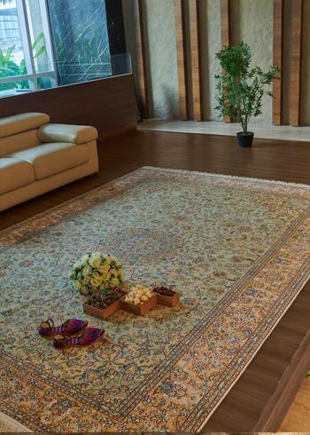Silk Carpet for Living Room