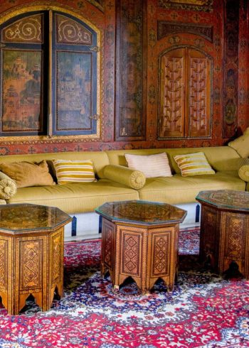 Oriental design coffee table carpet for home and offices