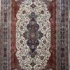 Pure Wool Living Room Floral Design Carpet