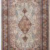 Hand knotted coffee table rug