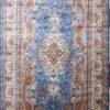 Silk wool dining room carpet