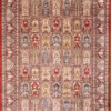 Geometric design oriental living room carpet