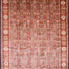 Hand knotted oriental dining room rug