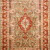 Living room wool silk 10 by 8 carpet