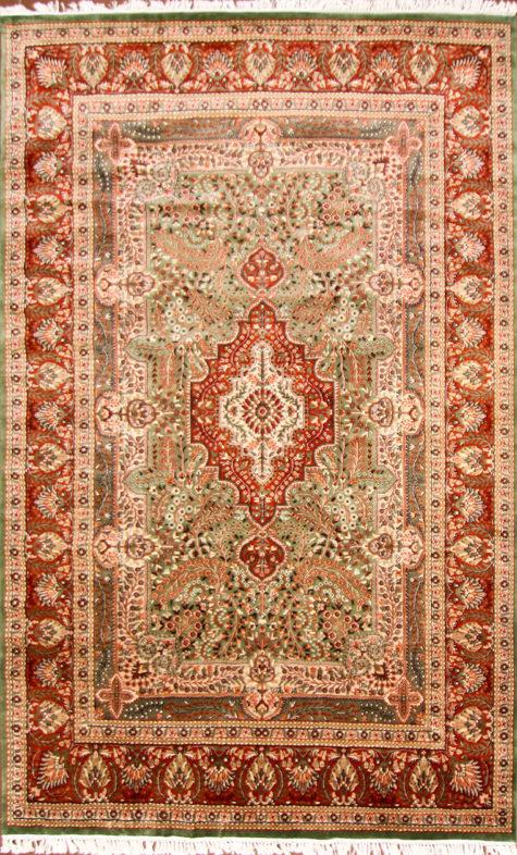 Living room wool silk 10 by 8 carpet