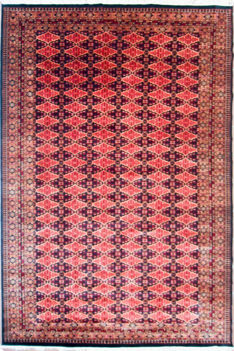Pure wool dining room rug