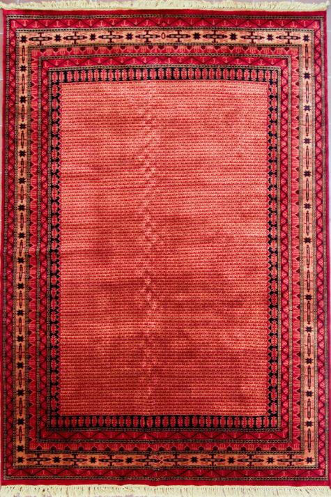 Pure wool living room geometric design carpet