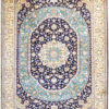 Pure silk coffee table carpet size 7 by 5