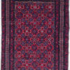 pure hand spun Afghan geometric carpet
