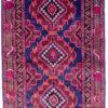 Hand spun Afghan pure wool bedroom
