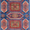 handmade hand spun Afghan design rug